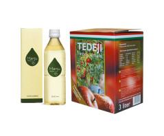 MANJU fermentált ital + Tedeji ROSTOS ALMALÉ