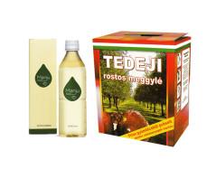 MANJU fermentált ital + Tedeji ROSTOS MEGGYLÉ